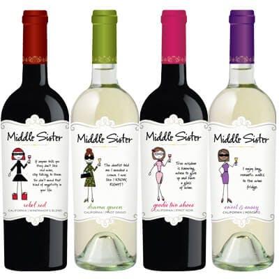 Middle Sister  - Bottle Image