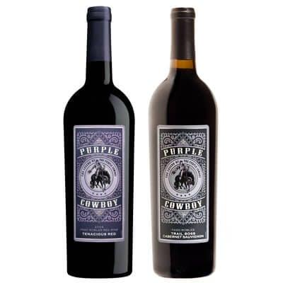 Purple Cowboy  - Bottle Image